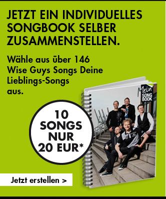 Jetzt ein individuelles Songbook selber zusammenstellen